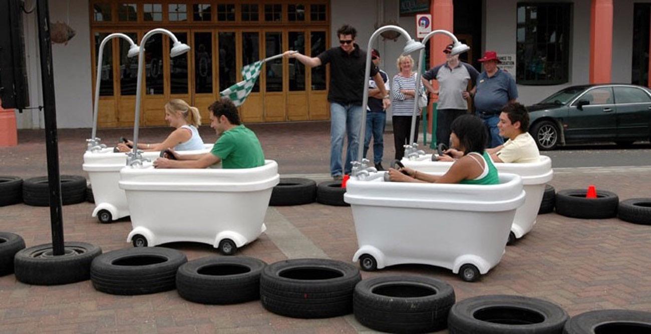Bathtub Racers Rental