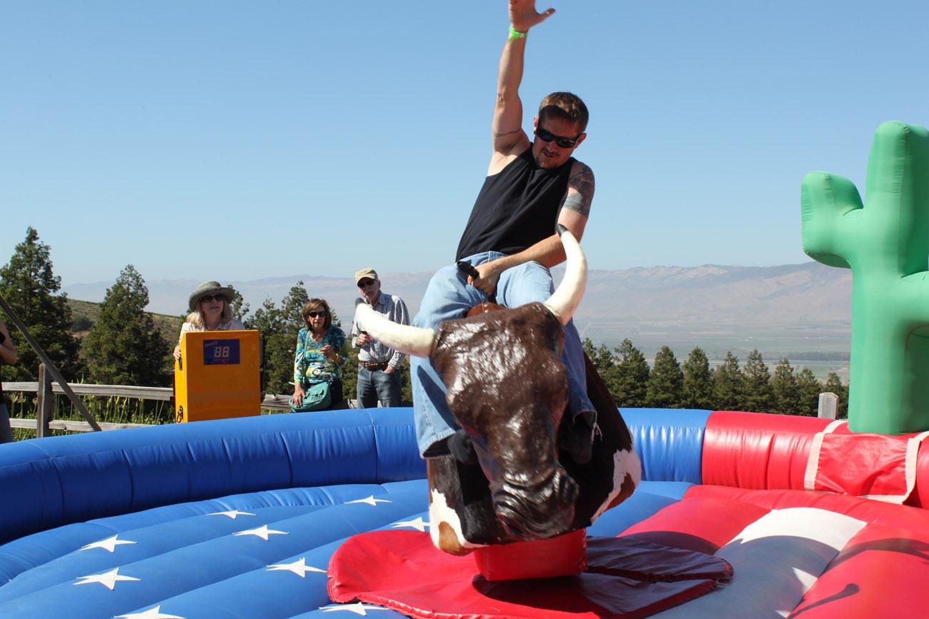mechanical bull rental - party rentals
