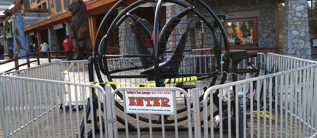 Gyro Extreme Mechanical Ride
