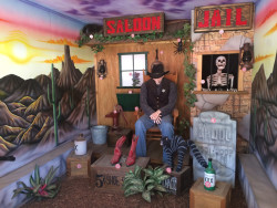 Old West Arcade Shooting Gallery