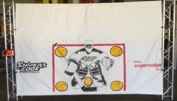 Radar Slap Shop Ice Hockey Challenge