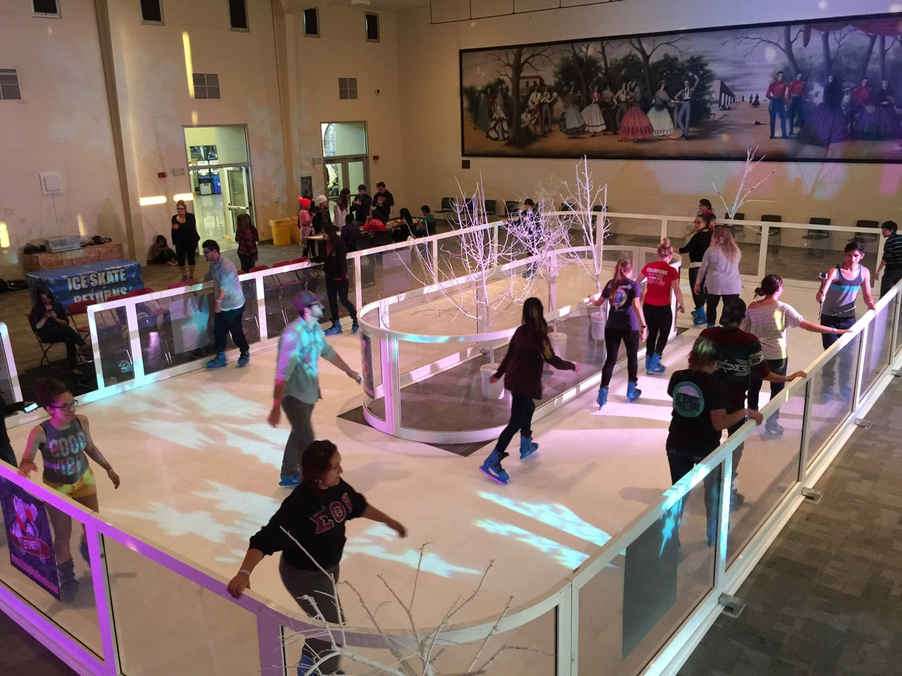 ice skating rink rental