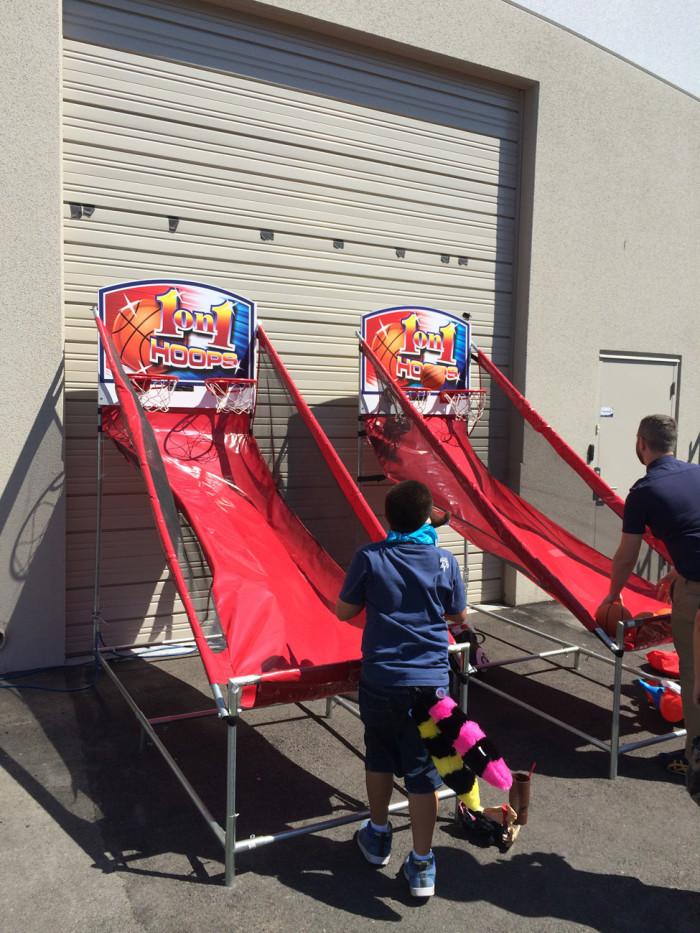 Basketball Game Rentals San Francisco Bay Area