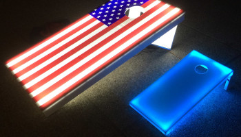 LED Corn Hole Baggo Game