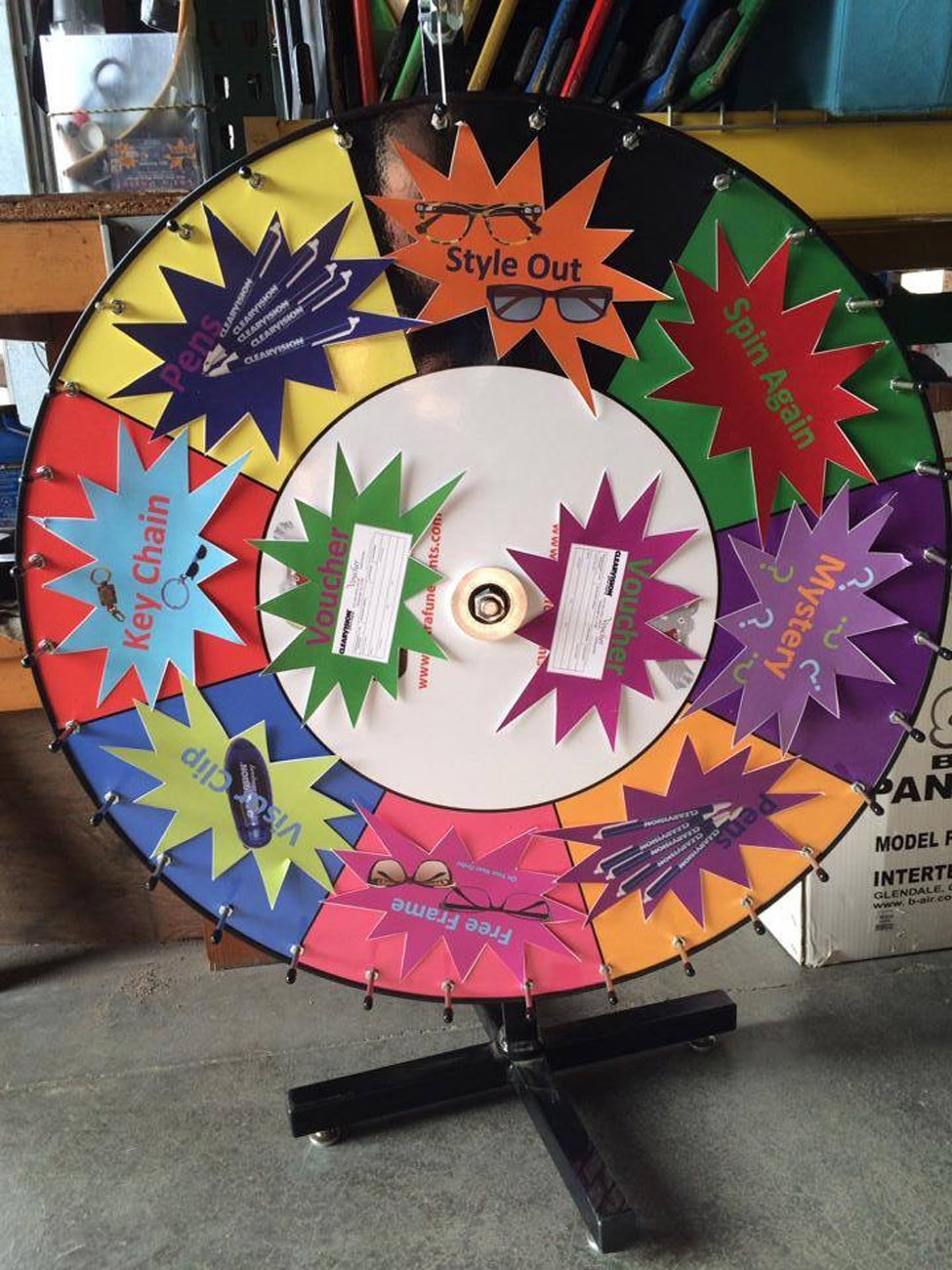Prize Wheels | Carnival Game Rentals | Let's Party