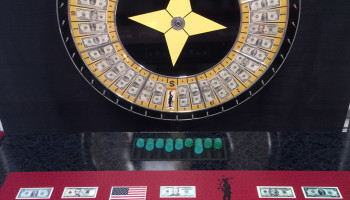60 Inch Casino Style Money Wheel