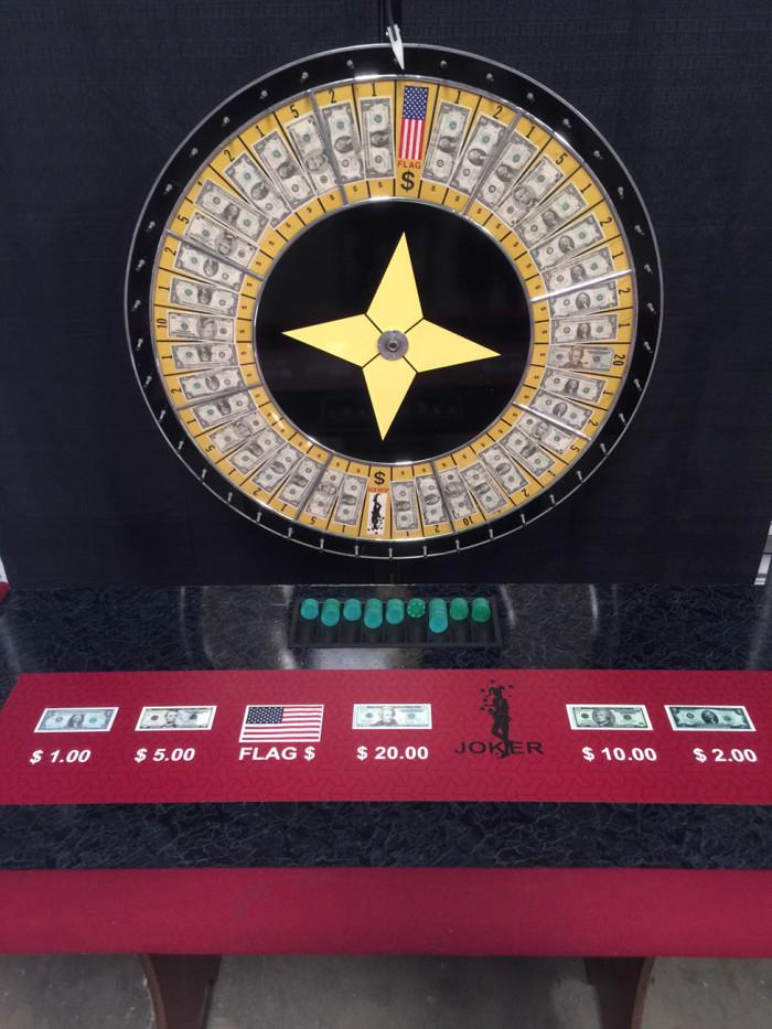 60 Inch Money Wheel Game
