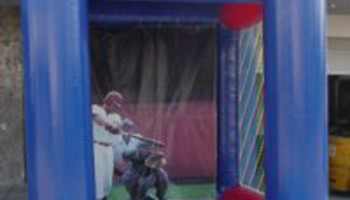 Inflatable Baseball Radar Speed Pitch