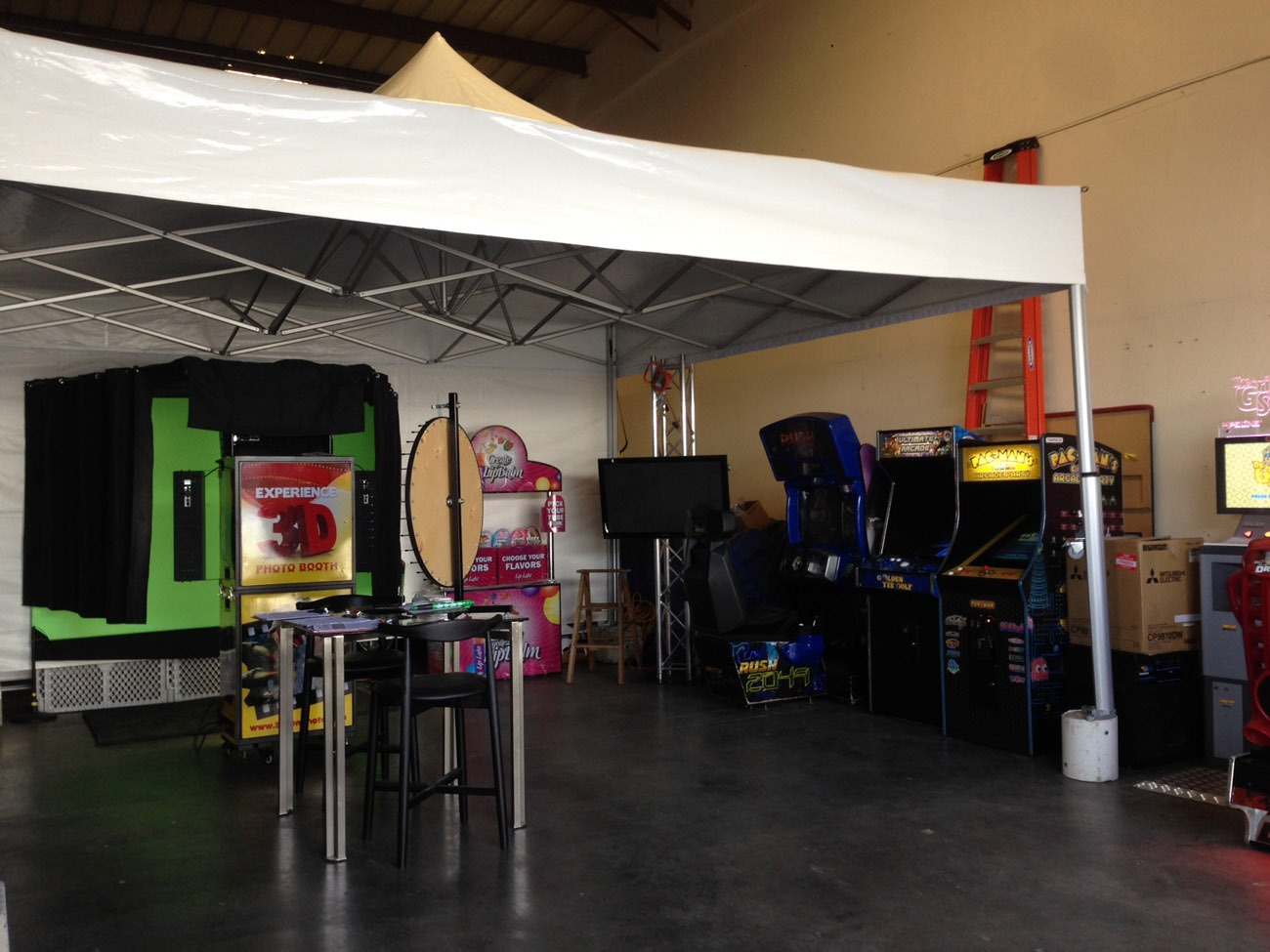 17ft by 17ft Tent Rental