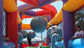 Inflatable Boulderdash