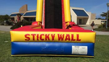 Velcro Sticky Wall Party Rental