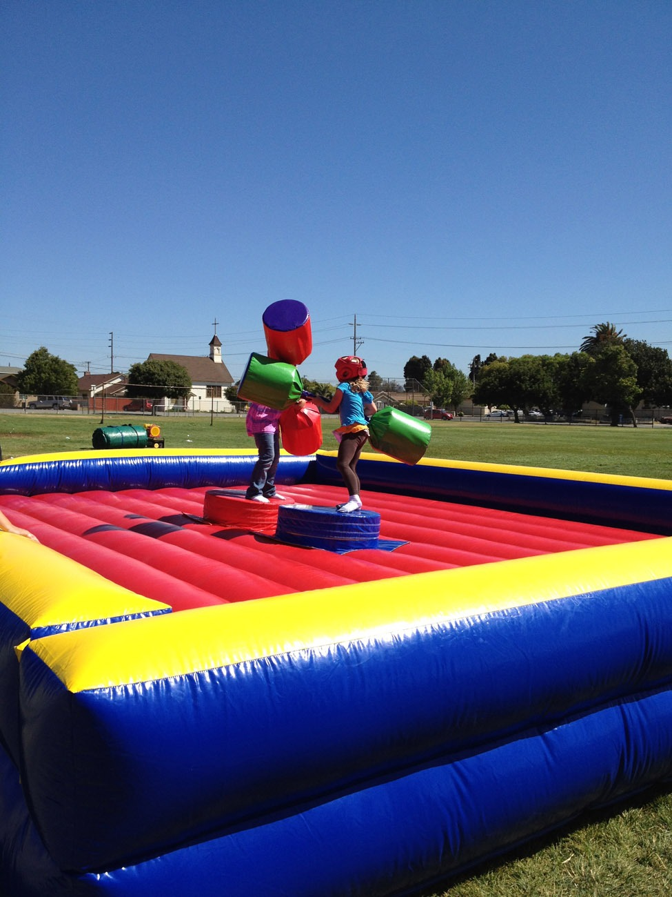 Inflatable Jousting Rental