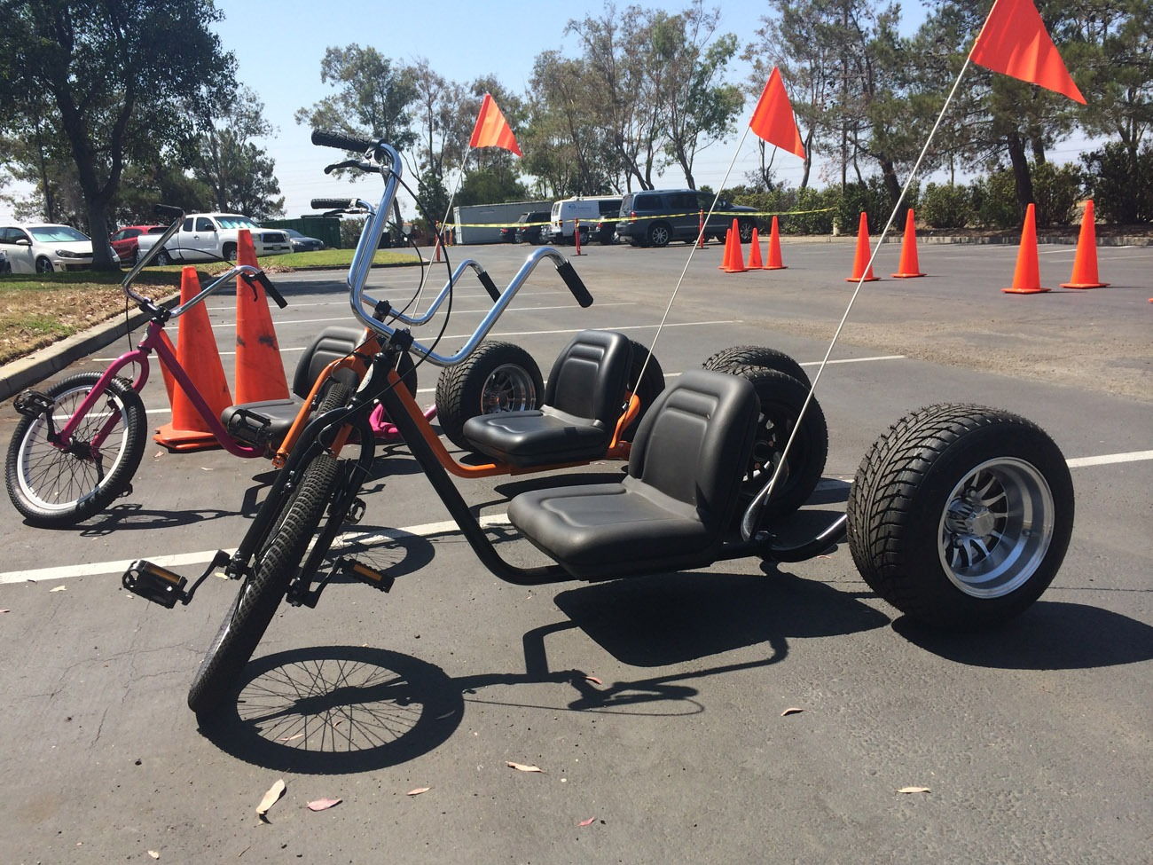 Extreme Adult Big Wheel Trikes Lets Party