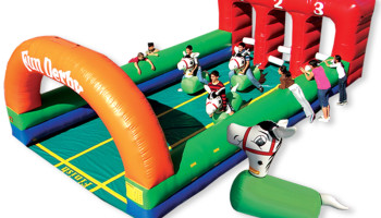 Inflatable Horse Derby Racing