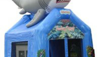 Shark Inflatable Bouncer