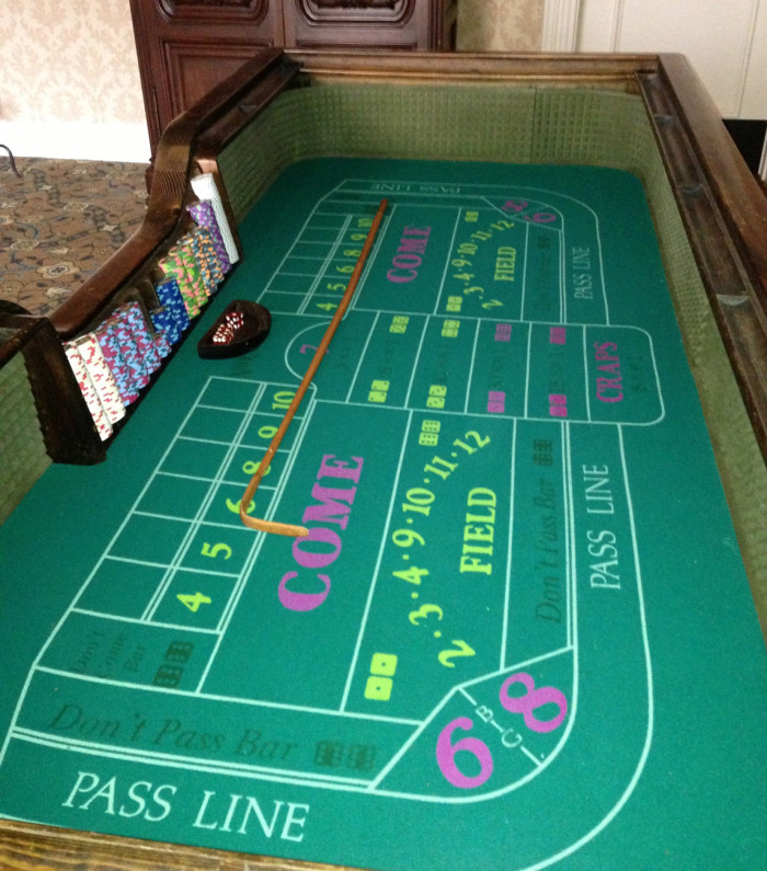 Craps Table Rental