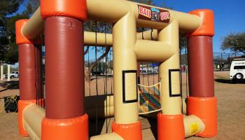 Inflatable Jail Western Prop Rental