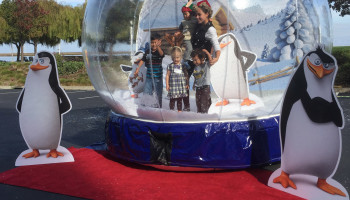 Event Globe Inflatable Snow Globe