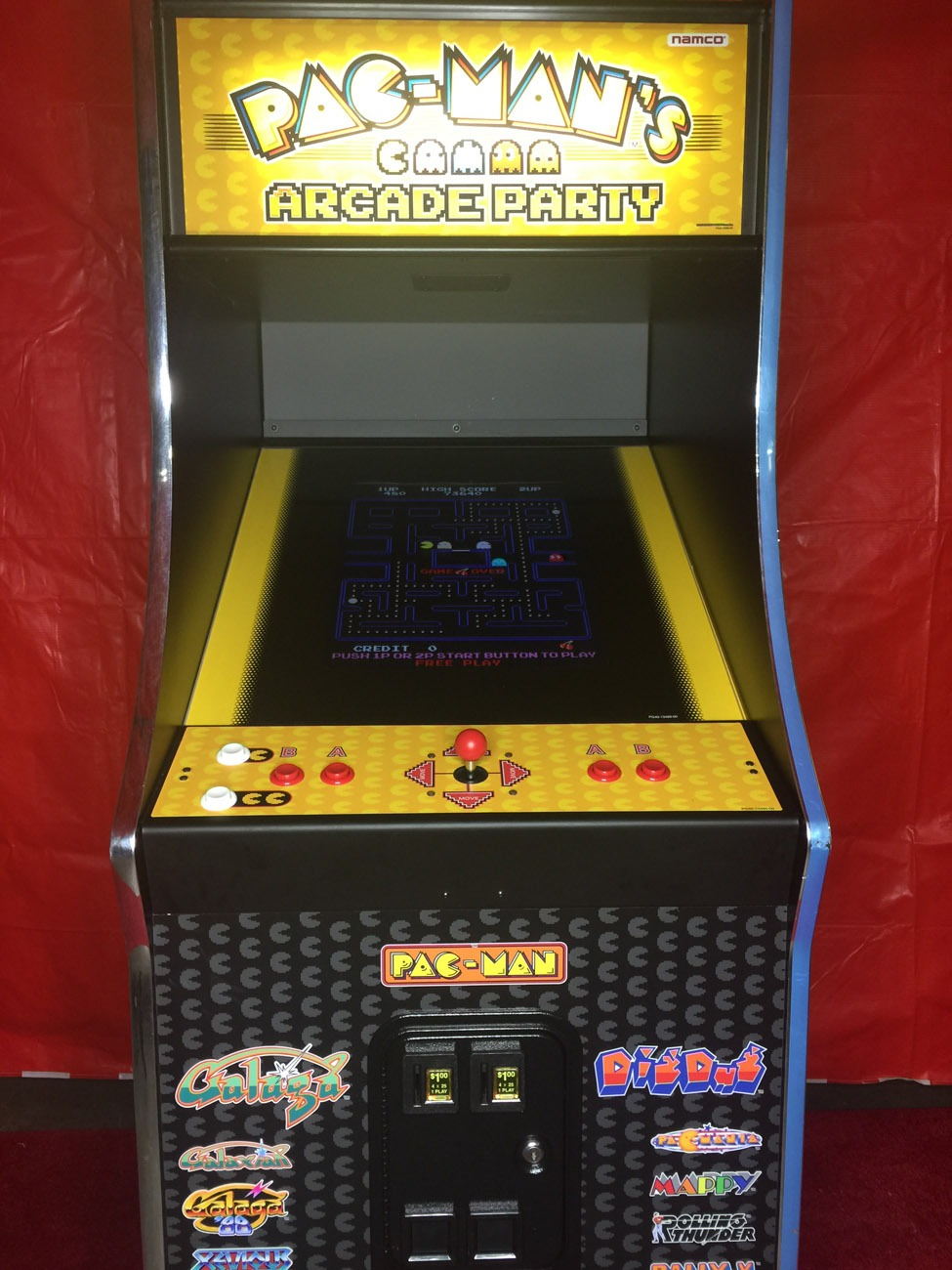 Pac-Man 80s Arcade Game Rental