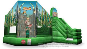 Jungle Island Inflatable Combo