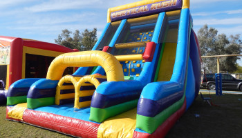 Vertical Rush Inflatable Obstacle Slide