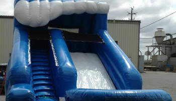 13ft Inflatable Little Surf Slide Dry/Wet