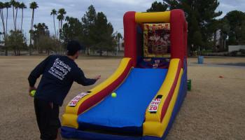 Inflatable Basketball Skeeball