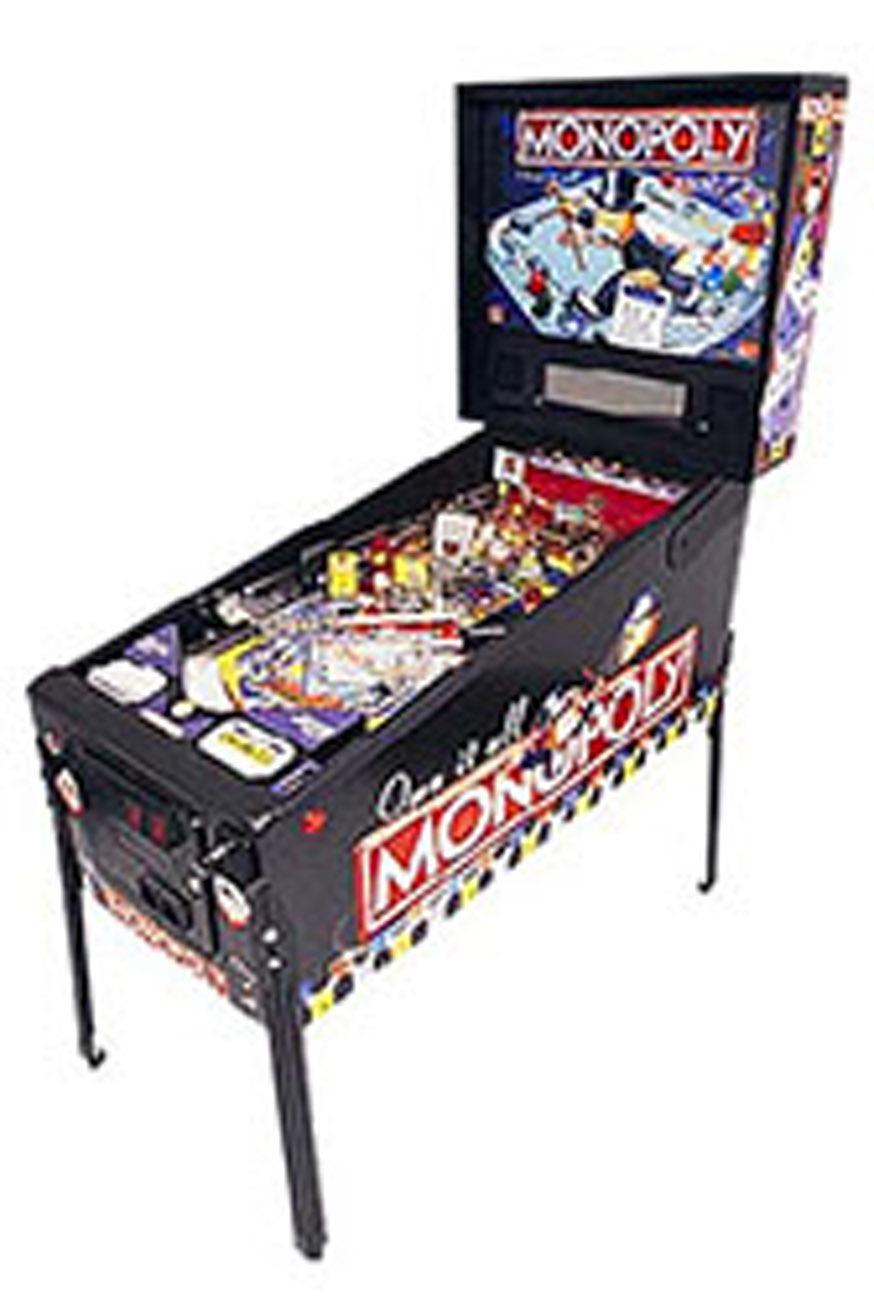 Monopoly Pinball Machine Rental
