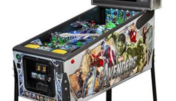 Avengers Pinball Machine