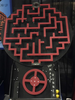 The Crazy Maze Game