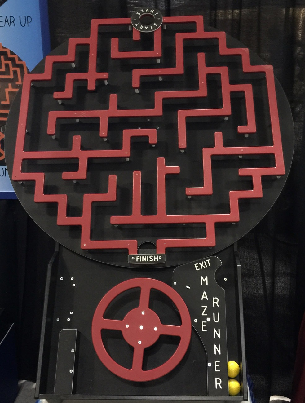The Crazy Maze Game