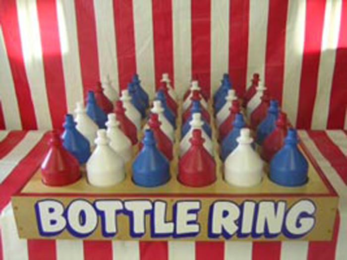Carnival Bottle Ring Toss