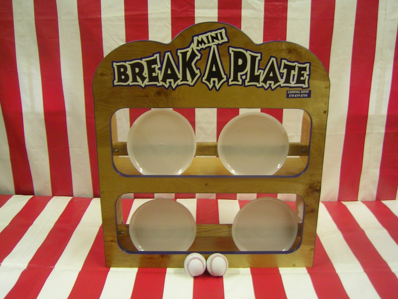 Break A Plate Carnival Game Lets Party