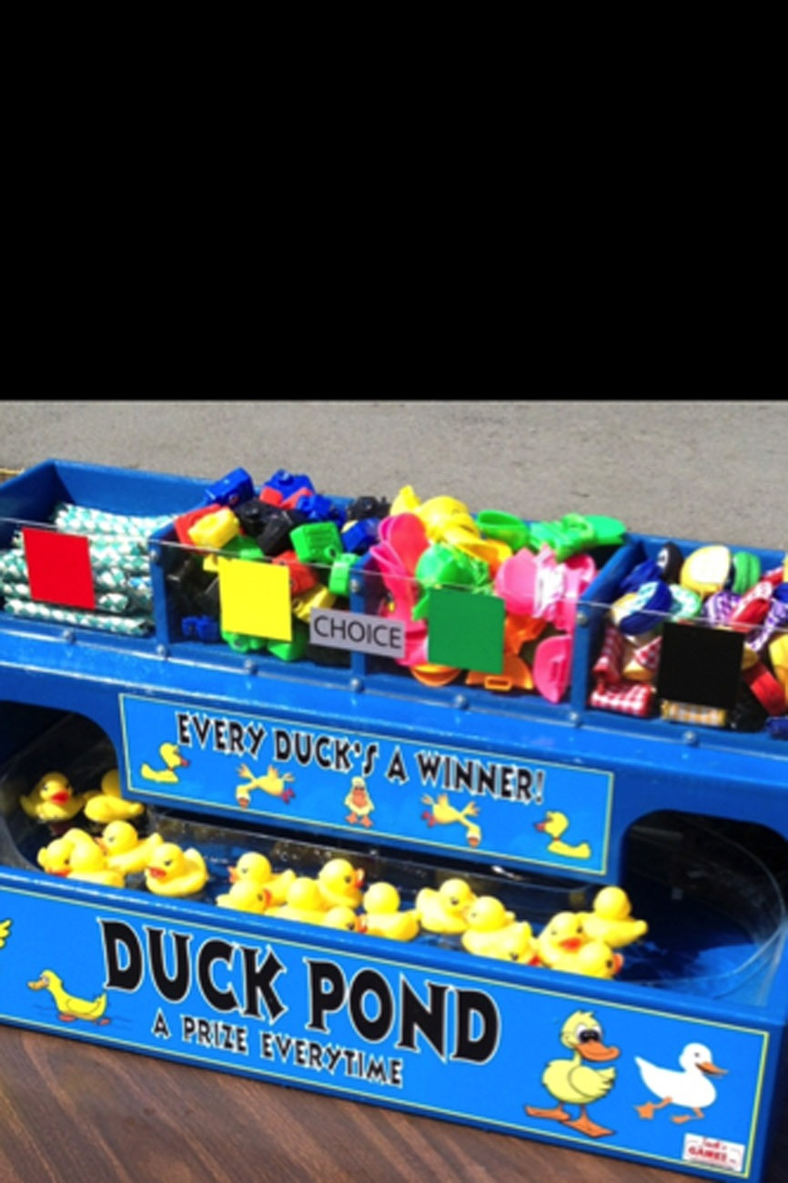 Floating Duck Pond Carnival Game Lets Party