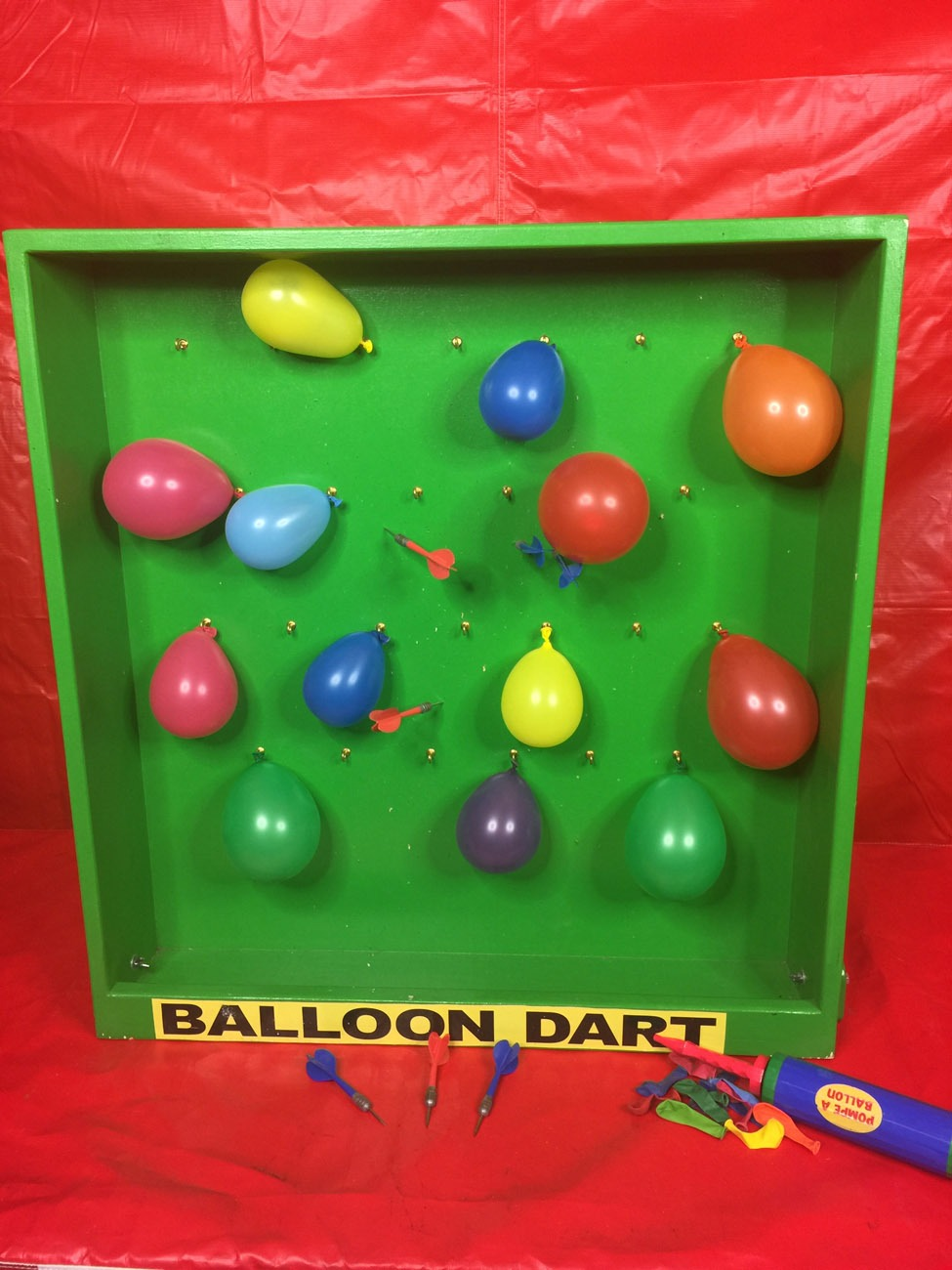 Balloon Dart Game Lets Party