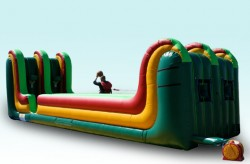 Rent our 2 Lane Inflatable Bungee Run Basketball for your next bay area event