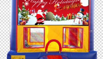 Winter Holiday Inflatable Bouncer