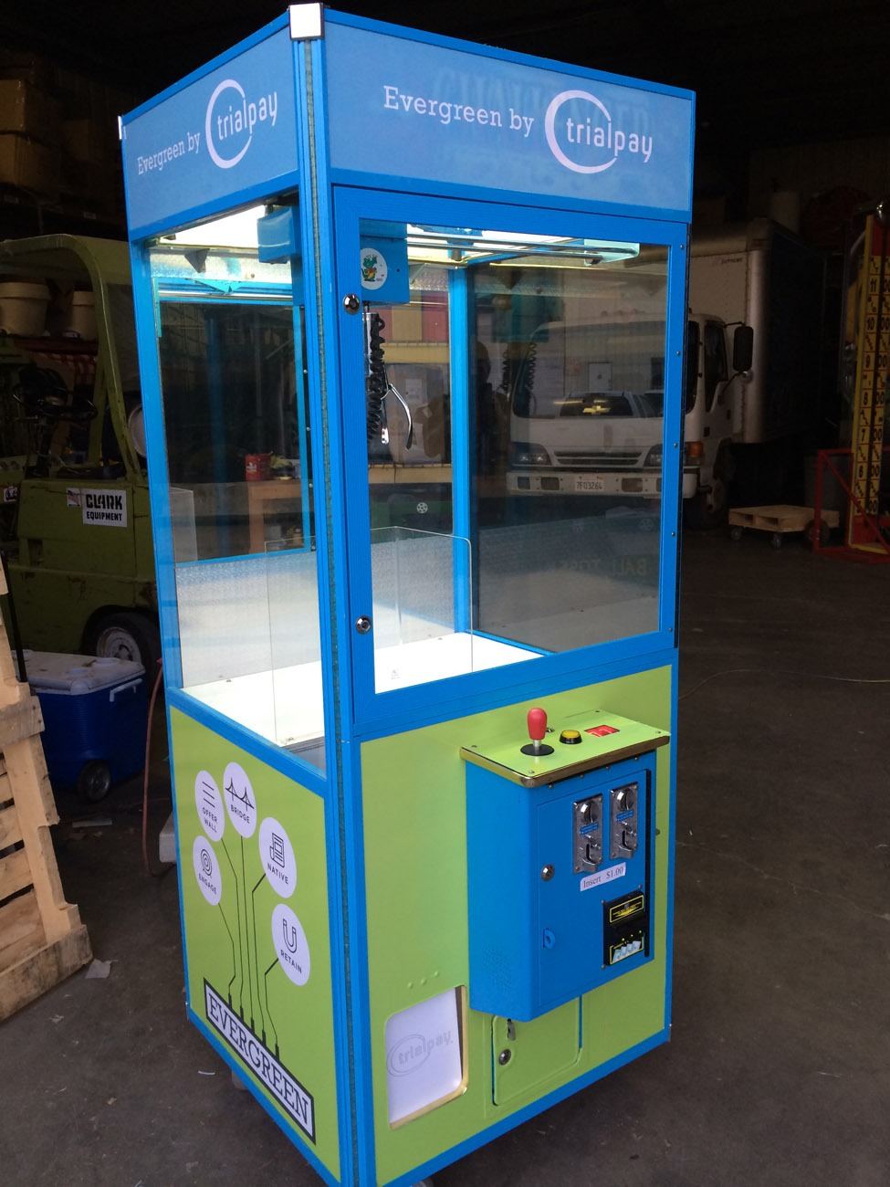 Claw Crane Machine Rental
