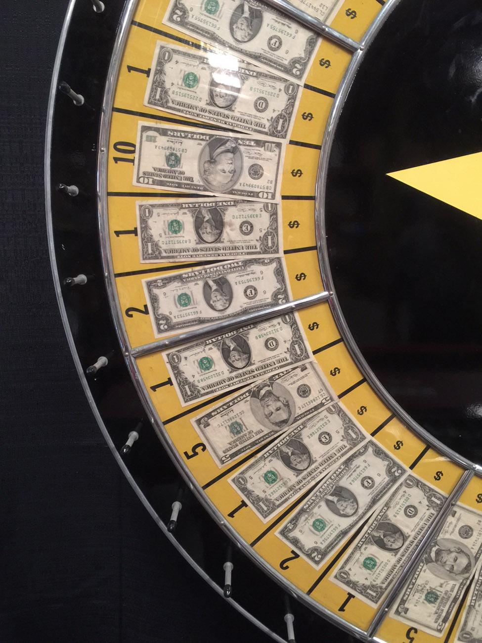 60 Inch Casino Money Wheel Game