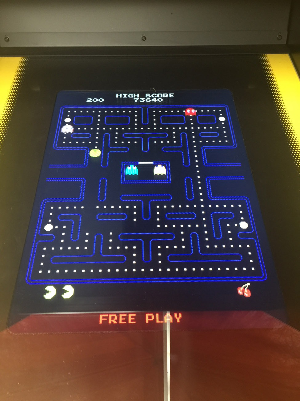Pac Man 80s Arcade Game Rental