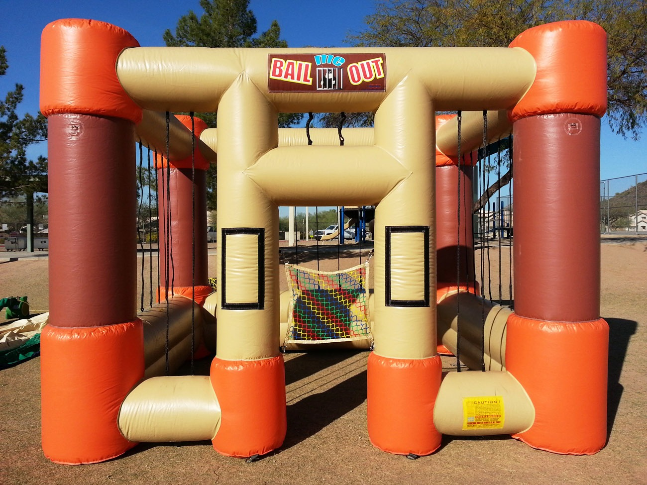 Inflatable Jail Cell Rental