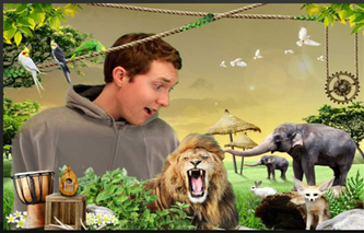 Green Screen Photo Booth - Choose Your Backdrop