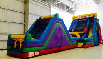 65 ft Double Dip Inflatable Obstacle Course