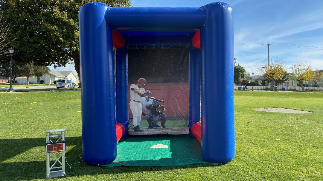 Baseball Speed Pitch Game Rental California