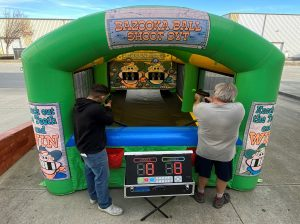 Inflatable Bazooka Ball Game