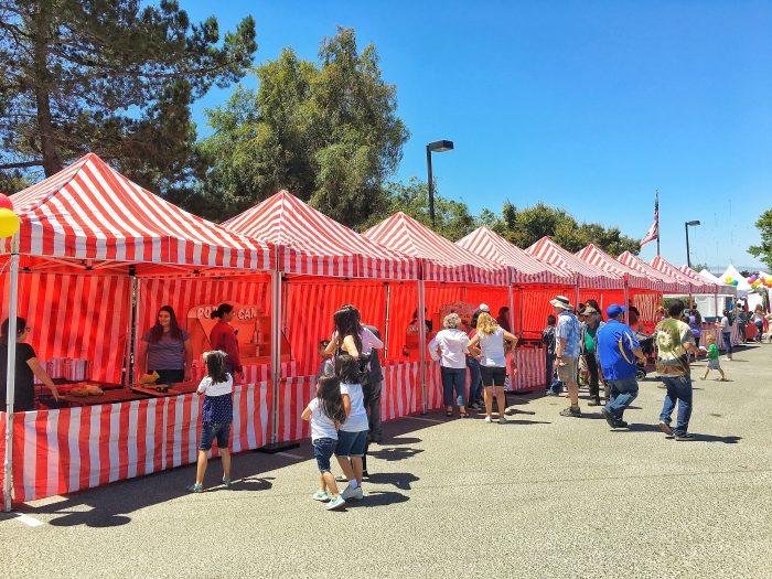 Monterey California Carnival Tent Rentals