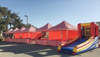 Carnival Tent Rental Santa Clara Bay Area