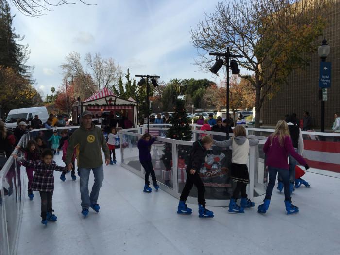 Portable Ice Skating Rink