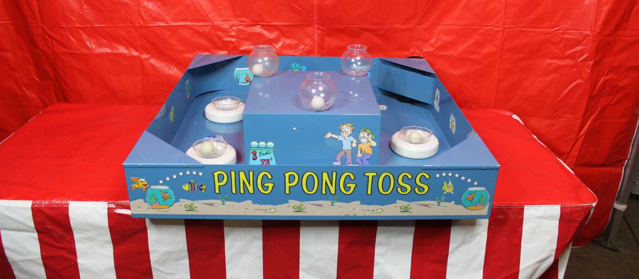 Ping Pong Water Toss Game