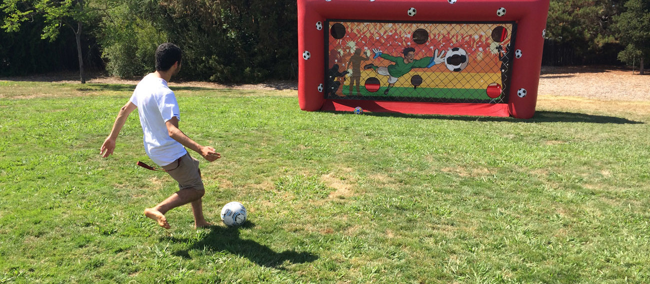 Inflatable Soccer Penalty Kick